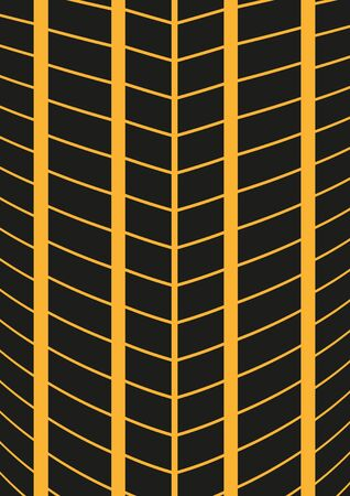 Wheel tire tracks background. Automotive banners template.