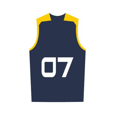 Basketball jersey, shorts, template for basketball club. Sport uniform.
