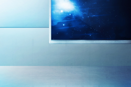 hall monitors: Spaceship interior. You can put this image as background to your design