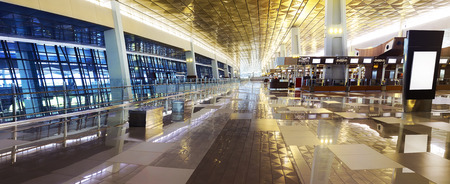 Image of airport terminal in Jakarta, Indonesia
