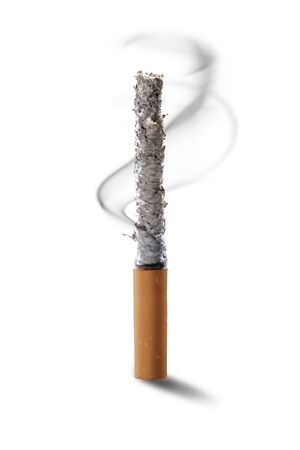 Cigarette isolated over white background
