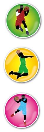 jump shot: JUMP SHOT icon