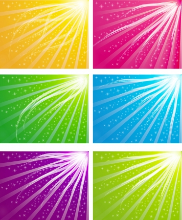 color light background Stock Vector - 16293489