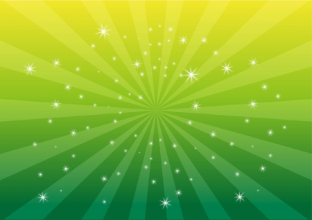 glimmer: Green color light background