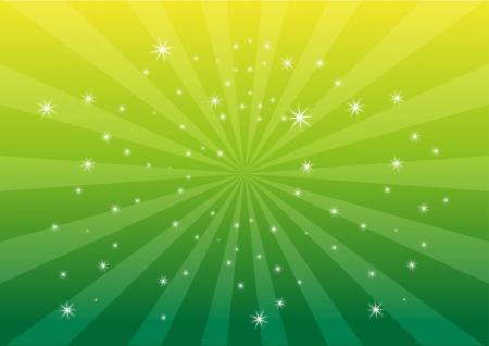Groene kleur lichte achtergrond Stock Illustratie