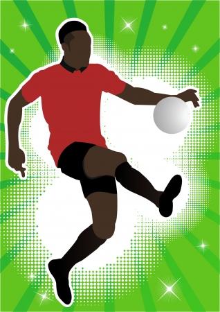 playoff: Football player soccer