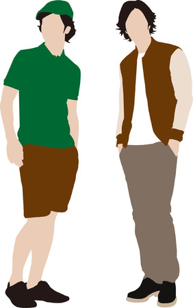 popular actor or actress silhouette  Vector