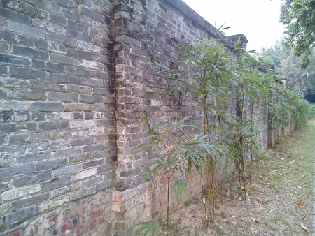 walled: Wall Stock Photo