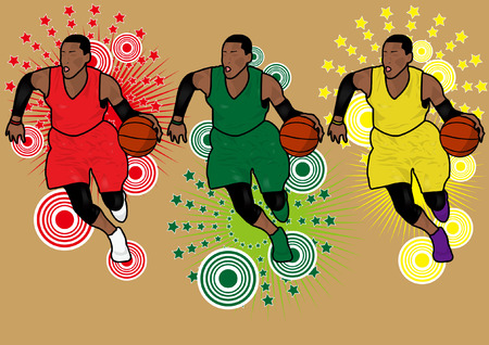 basketball Silhouette Illustration