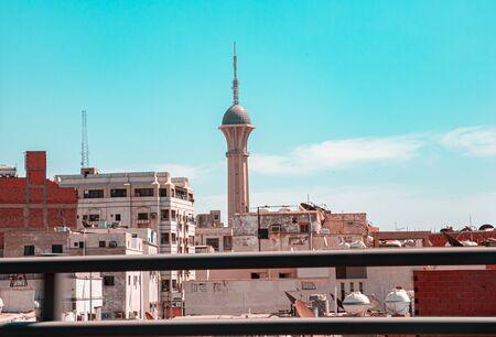 Telecommunication tower, Al Balad, Jeddah, Saudi Arabia
