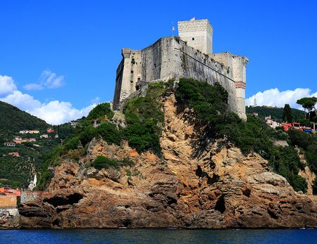 lerici a beautiful place in italy Standard-Bild
