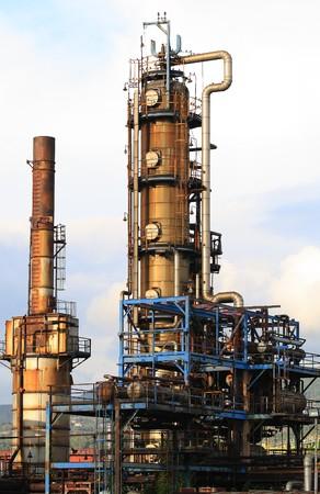 chemical plant: chemische fabriek Redactioneel