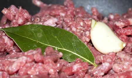 steak tartare: Raw beef-classic steak tartare on white plate