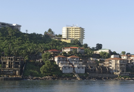 freetown the harbour of sierra leone Stock Photo - 11389241