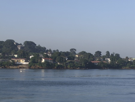 freetown the harbour of sierra leone photo