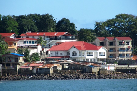 freetown the harbour of sierra leone
