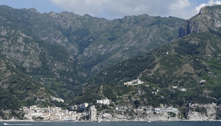 this is the coast in front of salerno , campania italy Stock Photo - 11710594