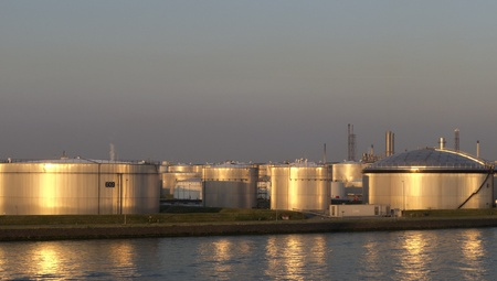 chemical plant in north europe Stock Photo - 12228075
