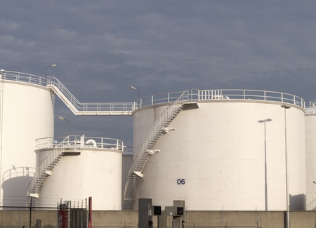 chemical plant in north europe Stock Photo - 12228079