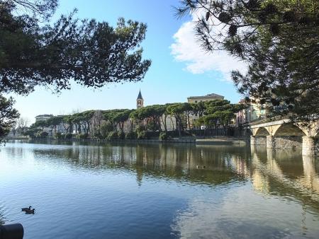 entella river in chiavari