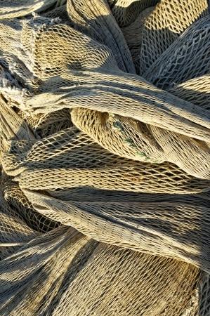 commercial fishing net: fishing net dtail