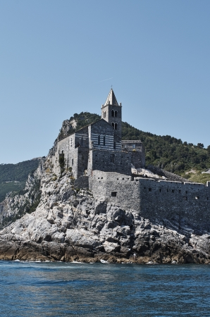 portovenere a very beautiful village near la spezia photo
