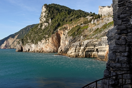 portovenere a very beautiful village in la spezia photo