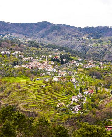 a beautiful little medieval village near la spezia
