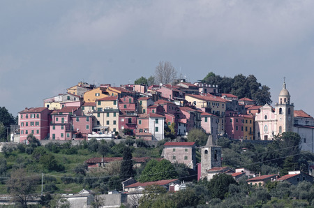 spezia: vezzano a little medieval village near la spezia