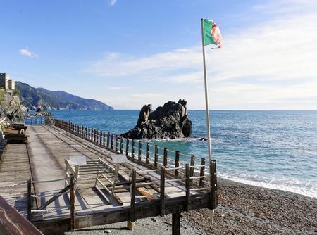 monterosso: monterosso a very beautiful village near la spezia Stock Photo