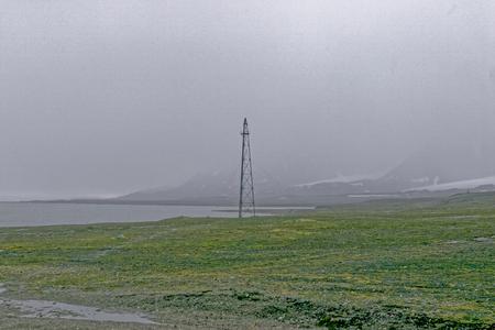 esquimales: foto de la isla de Svalbard en Noruega en verano Foto de archivo