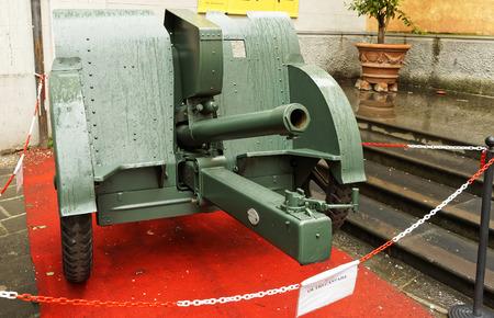 seconda guerra mondiale: vecchio artiglieria pistola della seconda guerra mondiale