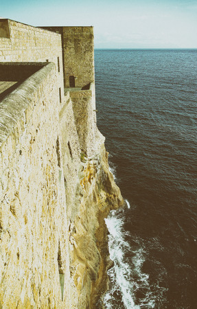castel: photo of castel dell ovo a old historical castle in naples