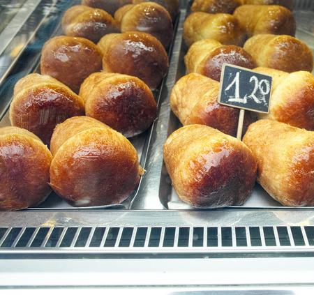rum cake: typical napoletan italian cake called baba