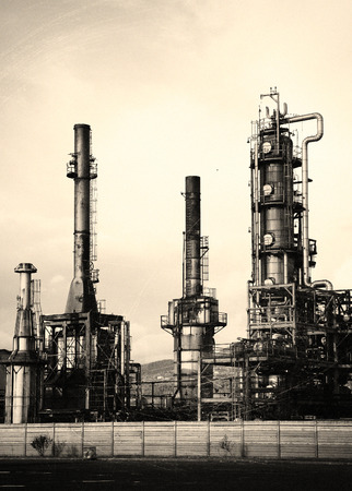 distill: chemical plant in north europe
