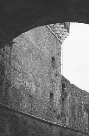 sarzana: fortress of sarzanello located in Sarzana a little village near la spezia