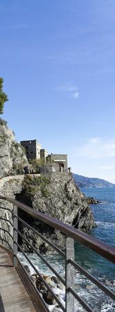 spezia: monterosso a very beautiful village near la spezia Editorial