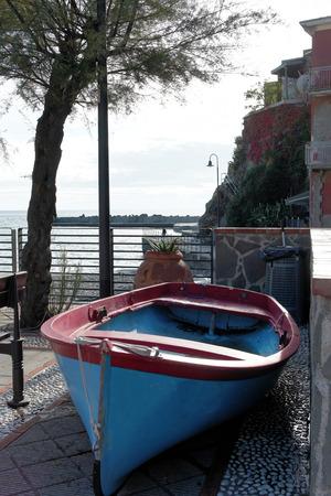 spezia: monterosso a very beautiful village near la spezia Stock Photo