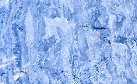spezia: detail of portoro marble in a marble quarry near la spezia
