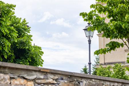 spezia: view of vezzano ligure little village near la spezia Stock Photo