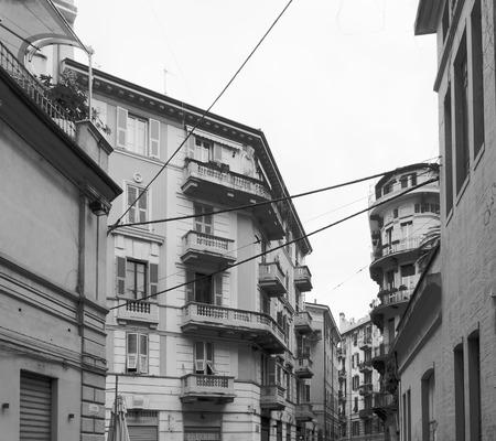 spezia: detail of la spezia town in liguria, italy
