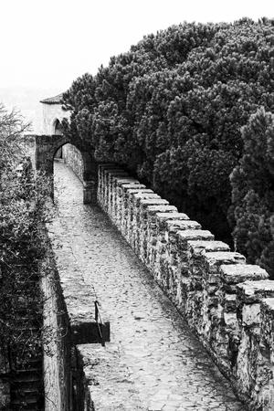 jorge: detail of medieval san jorge Stock Photo