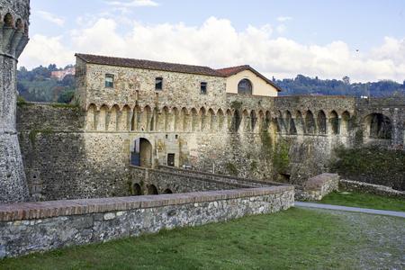 fortezza: the mighty Pisan Fortezza Firmafede in Sarzana ,iTALY