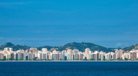 very nice view of rio de janeiro in summer time Stock Photo