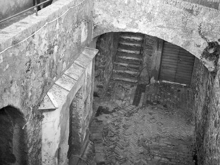 fortress of sarzanello located in Sarzana a little village near la spezia