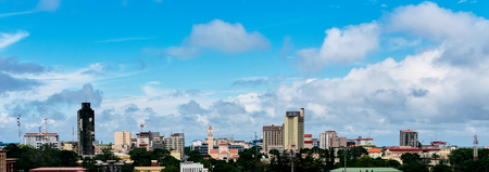 very nice view of conakry in west africa , guinea Stock fotó