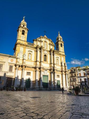 San Domenico church in Palermo, Sicily, Italy