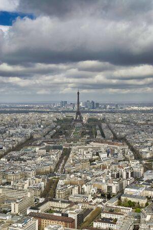 very nice view of paris nice town in france
