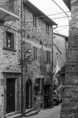 virgoletta a little medieval village near aulla in lunigiana