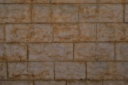 Typical masonry for backgrounds and textures